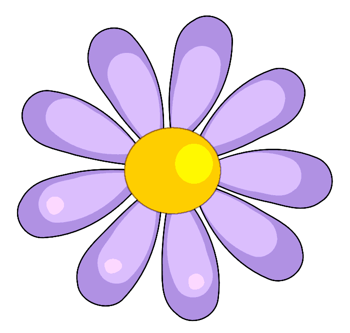 700x667 Moons Flower Flower Clipart
