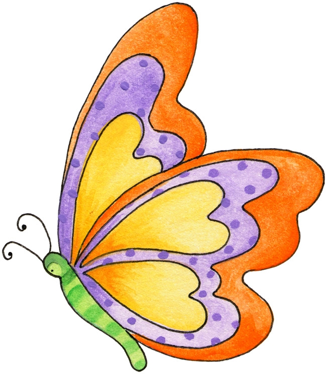 649x744 Butterfly Clipart Black Background 3115818