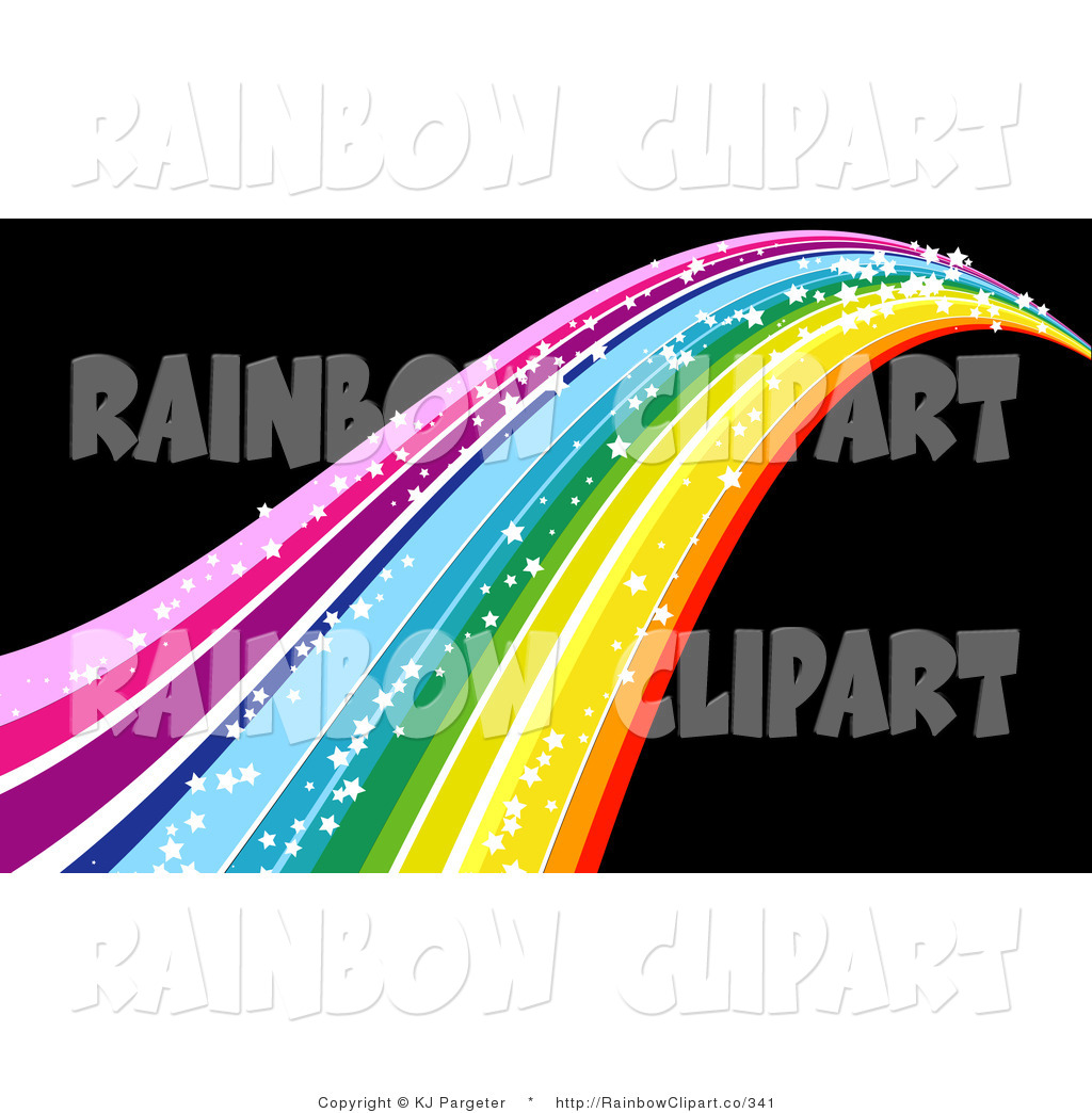 1024x1044 Vector Clip Art Of A Colorful, Glittering Rainbow With Sparkling