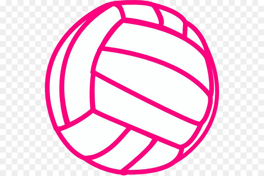 900x600 Volleyball Sport Black Clip Art