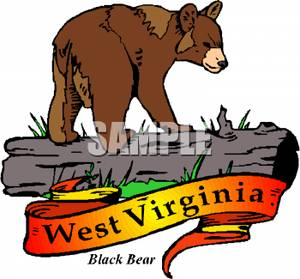 300x279 Clipart Image The West Virginia State Animal
