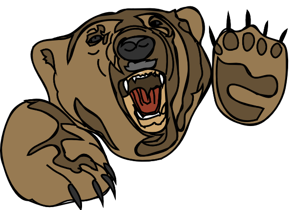 600x430 Polar Bear Brown Bear American Black Bear Clip Art
