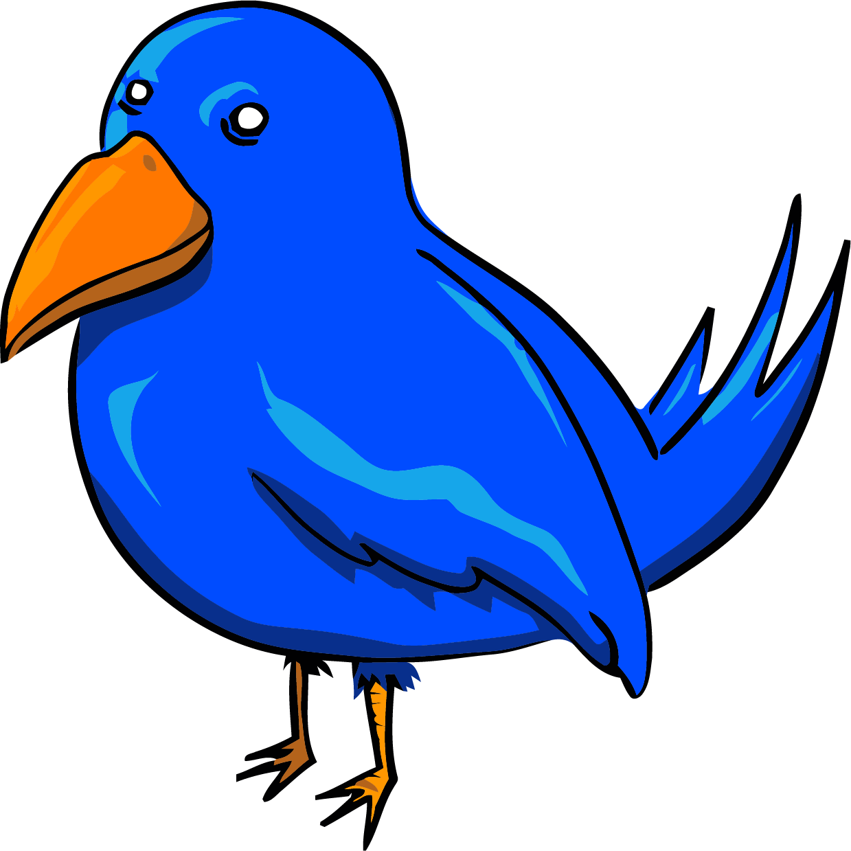 1239x1239 Bird Face Clip Art Cute Birds Clipart Black And White Png