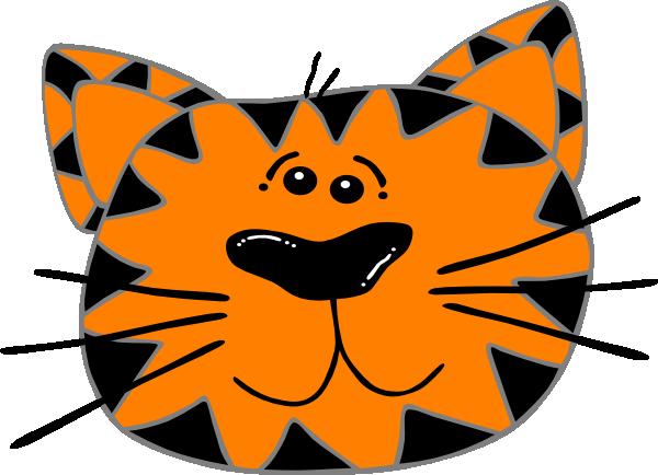 600x434 Cat Face Clipart