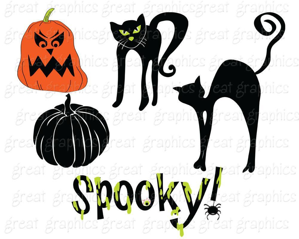 1000x800 Halloween Clipart Halloween Clip Art Halloween Digital Download