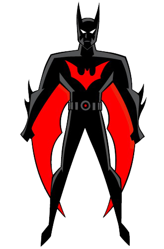 330x500 Clip Art Batman Red And Black