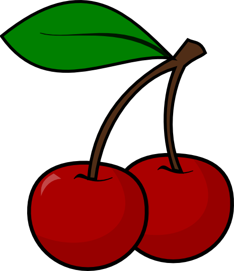 465x540 Cherry Clipart Black And White Cherry Clip Art 29 Goldie'S