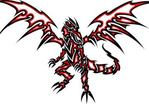 300x210 Red Eyes Black Dragon Wallpaper