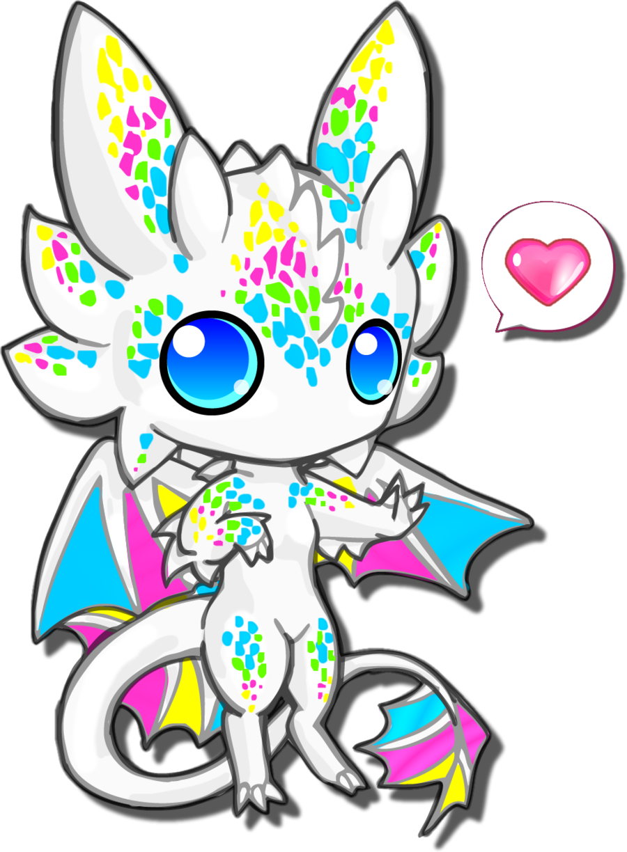 900x1224 Cute Dragon Clipart Png
