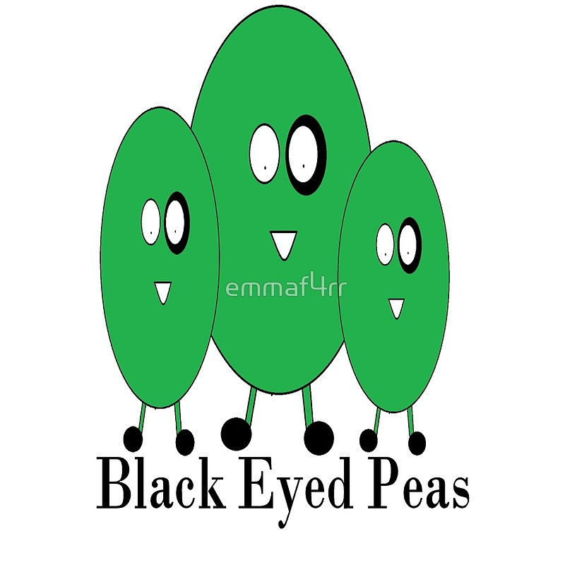 800x800 Black Eyed Peas Tote Bags By Emmaf4rr Redbubble