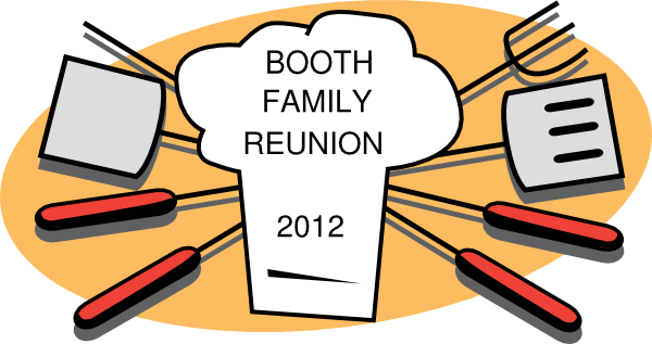 600x317 Booth Family Reunion Clip Art