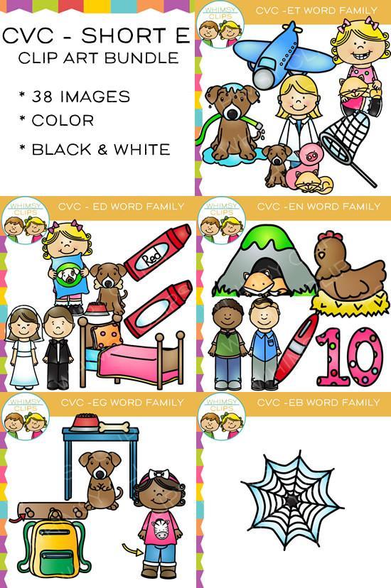550x828 Short Vowel Clip Art , Images Amp Illustrations Whimsy Clips