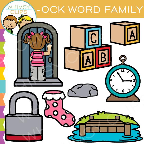 600x600 Ock Word Family Clip Art Clip Art And Filing