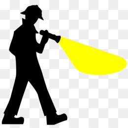 260x260 Flashlight Torch Clip Art