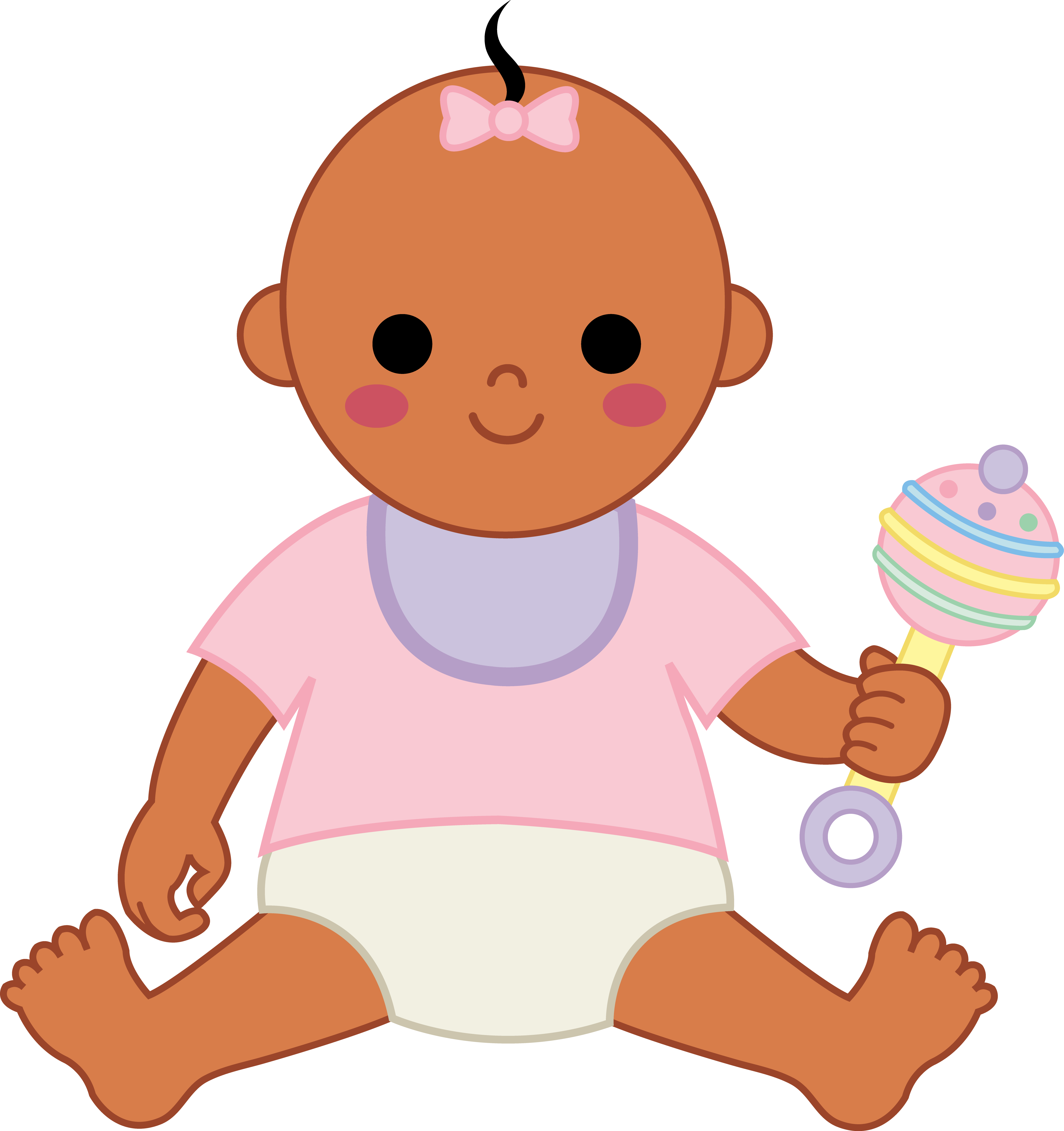 5177x5502 Clip Art Baby Girl 101 Clip Art