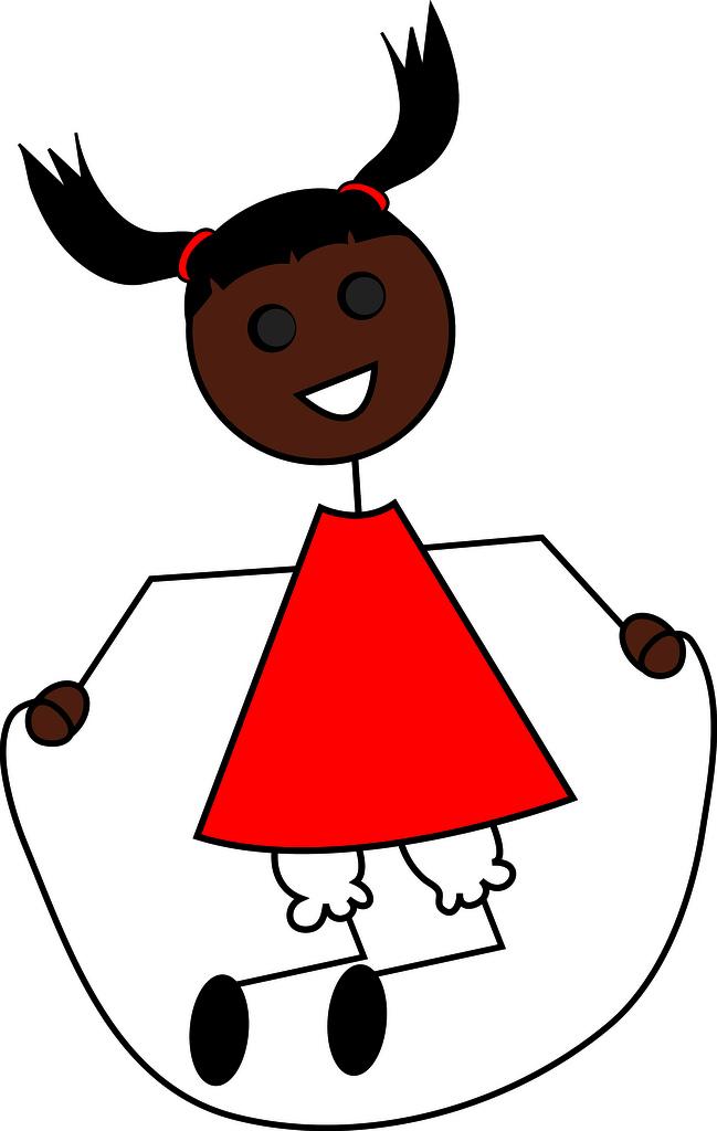 649x1024 Clip Art Illustration Of A Cartoon Little Black Girl