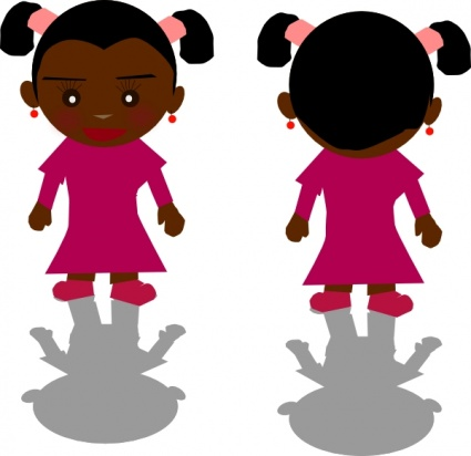 425x412 Free Download Of Ricardo Black Girl Png Clip Art Vector Graphic