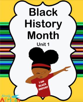 284x350 Black History Month Workbook Unit 1 By Akeeba Maze Tpt