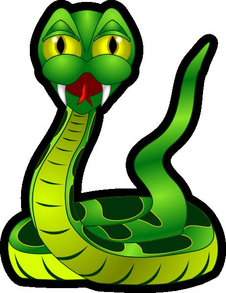 462x600 Snake Green Clip Art