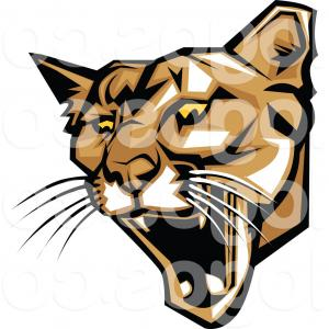 300x300 Black Panther Head Puma Face Leopard Tiger Vector Arenawp