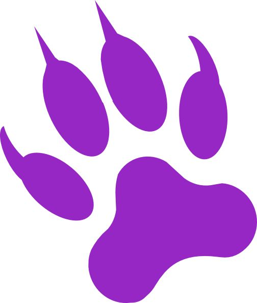 504x594 Black Panther Paw Print Tattoo Clipart Free Clip Art Images Harrah