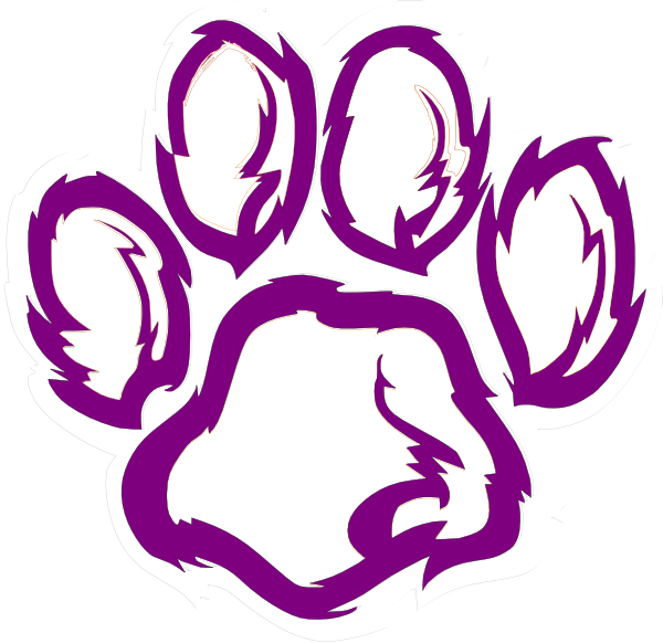 600x582 Purple Clipart Black And White