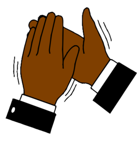 285x299 People Clapping Hands Clipart