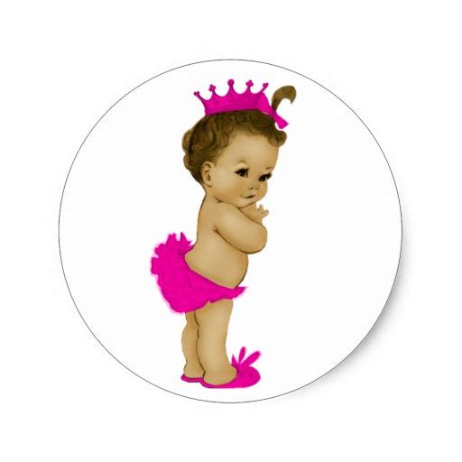 512x512 27 Images Of Black Princess Baby Shower Clip Art