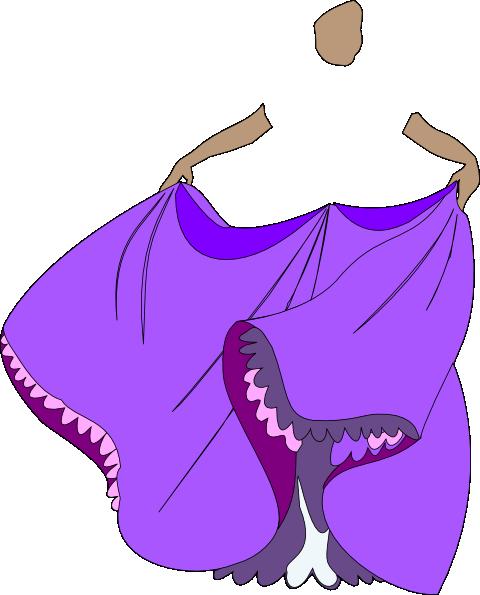 480x595 Princess Purple Dress No Faceody Clip Art
