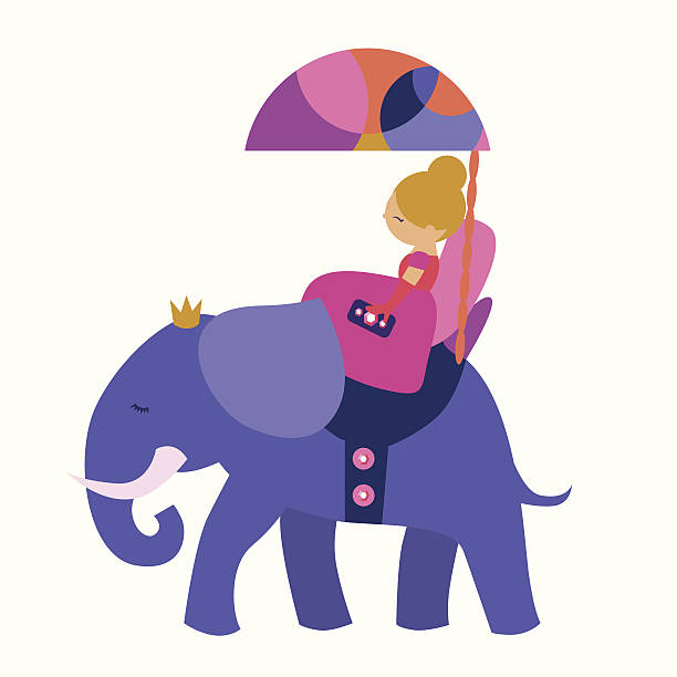 612x612 Princess Clipart Elephant