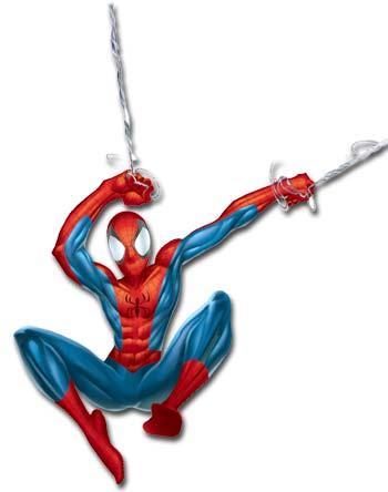 350x444 Spider Man Web Clipart
