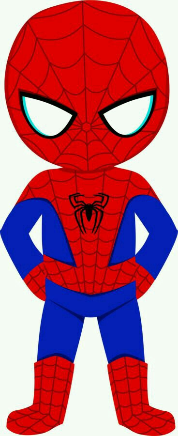 368x900 Spiderman Clipart Caricature