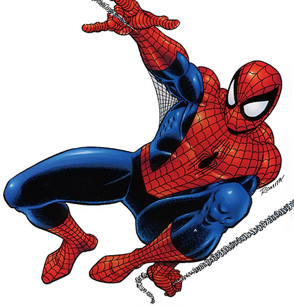 600x624 Spiderman Clipart Images Blank