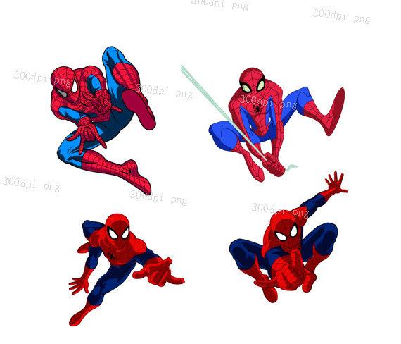 570x488 Spiderman Digital Clipart Vector Eps Png Files Clip Art Images
