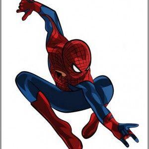 300x300 Black Spider Clipart Spiderman Spiderman, Clipart
