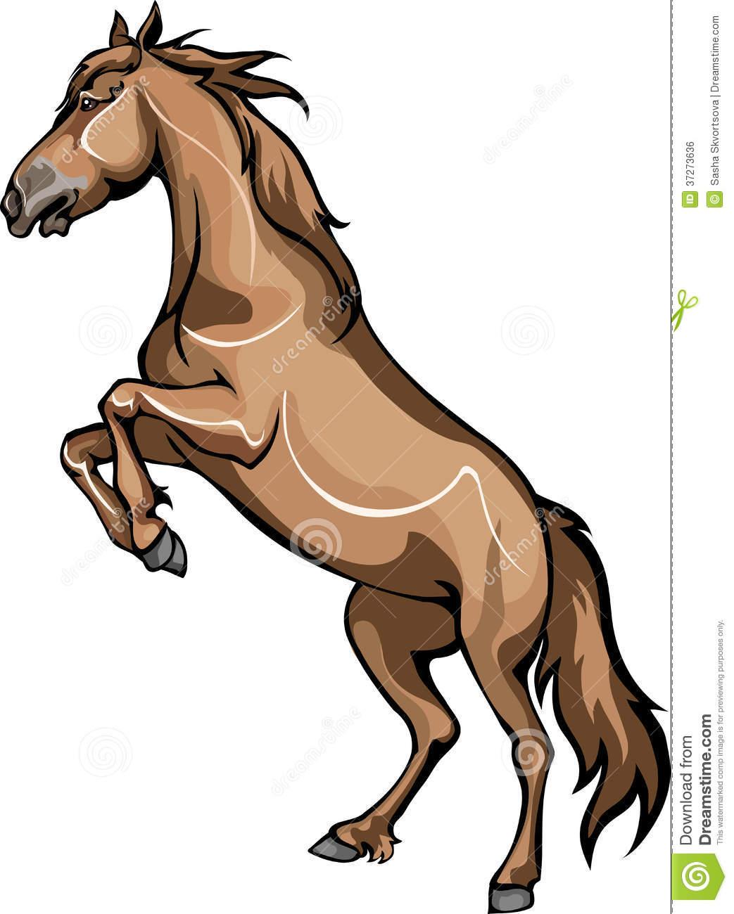 1043x1300 Stallion Clipart Hind Leg