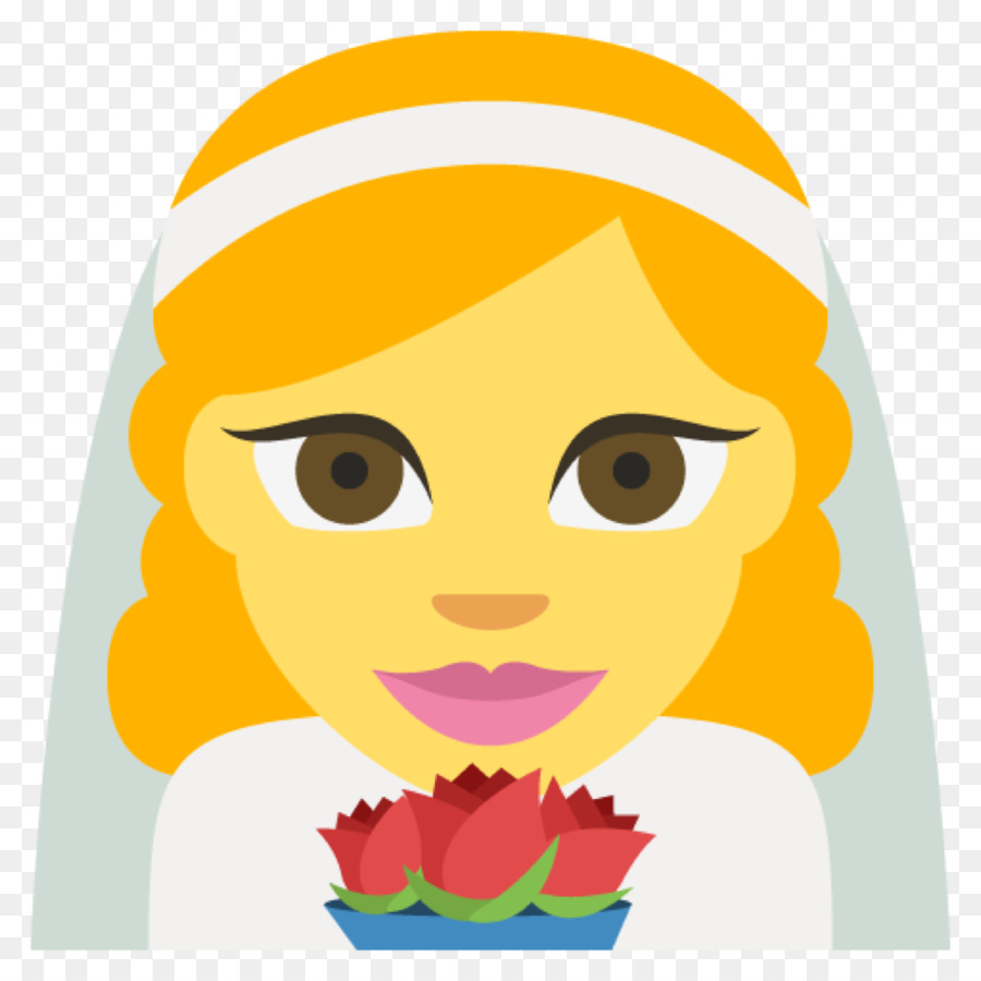 900x900 Emoji Sticker Bride Wedding Emoticon
