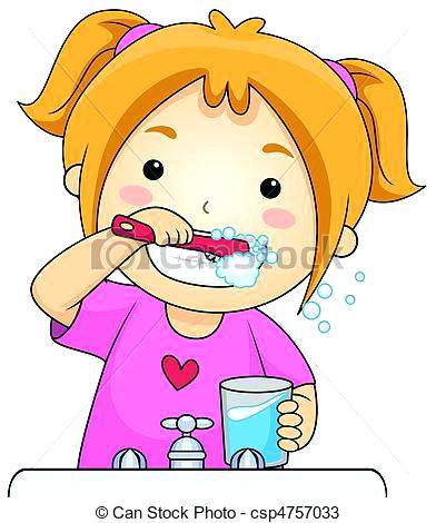 392x470 Clip Art Brushing Teeth Kid Brushing Teeth Kid Brushing Teeth