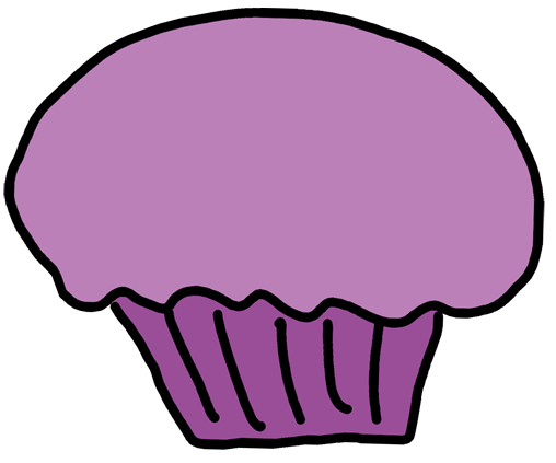 508x423 Cupcake Clipart Black And White