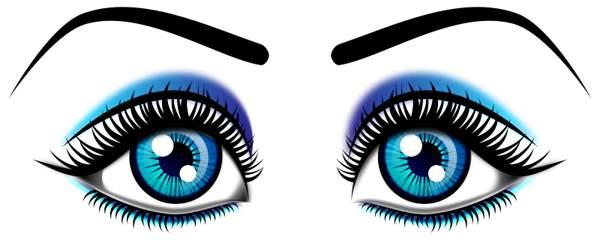 600x240 Eye Images Clip Art Eye Clip Art Black And White Clipart Panda