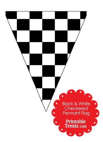 400x550 Checkered Flag Banner Clip Art