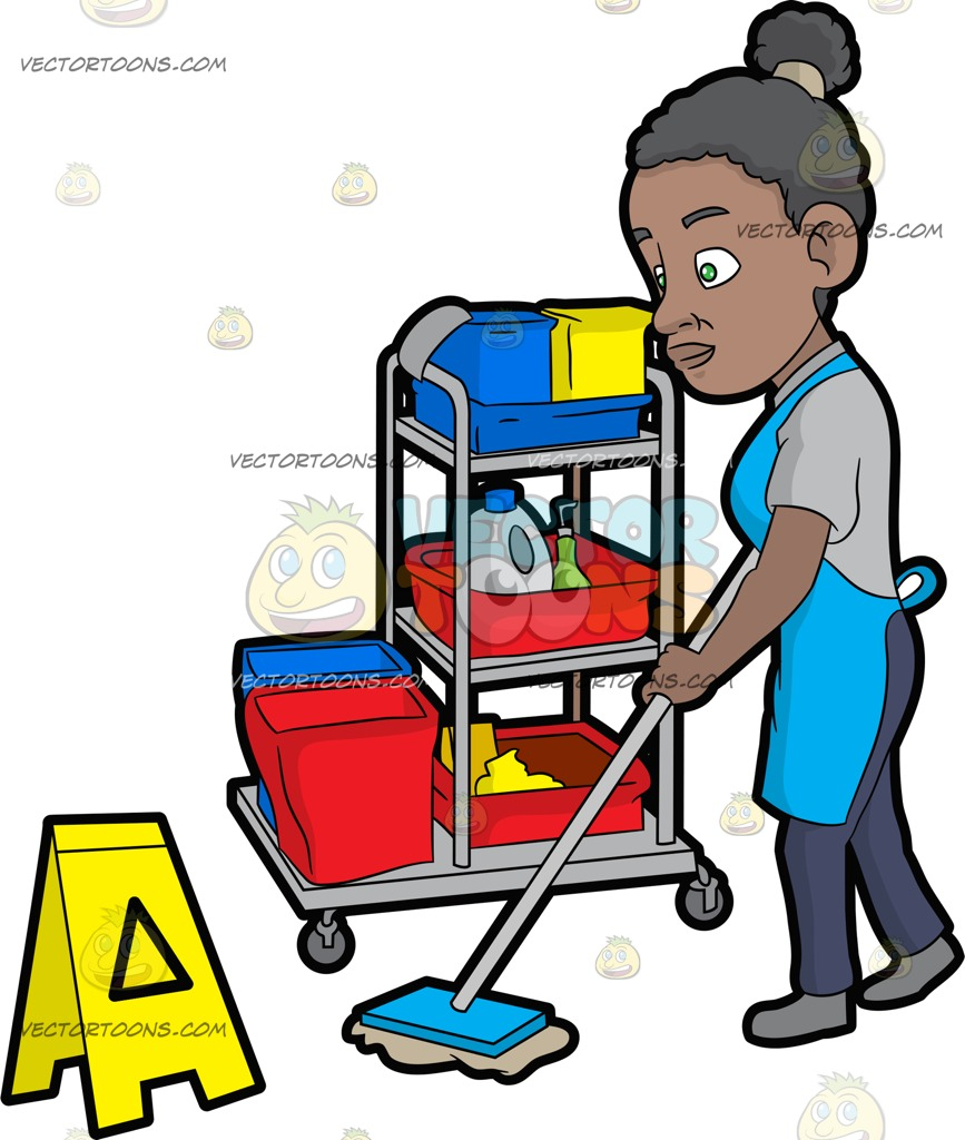 867x1024 Women Clipart Janitor