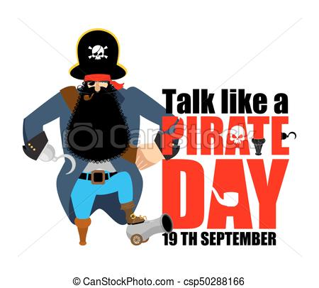450x406 International Talk Like A Pirate Day. Pirate Hook And Clip Art