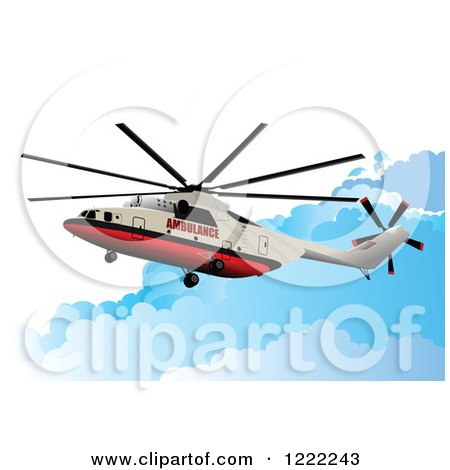 450x470 Clipart Helicopter 3