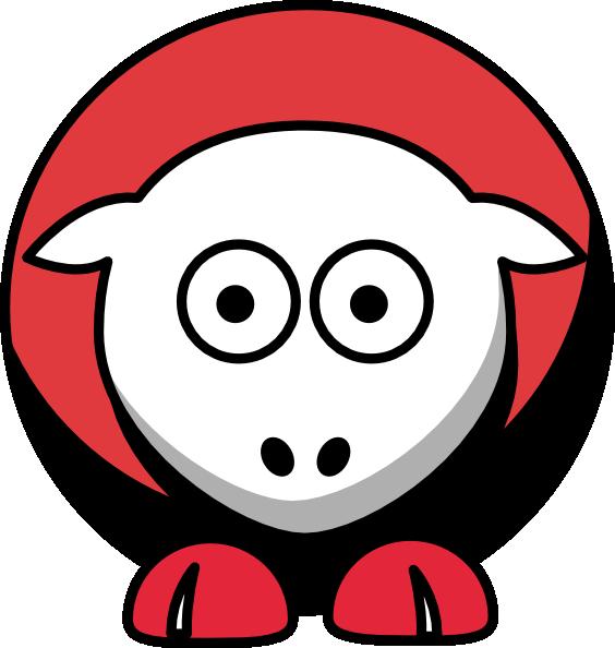 564x594 Sheep Chicago Blackhawks Team Colors Clip Art