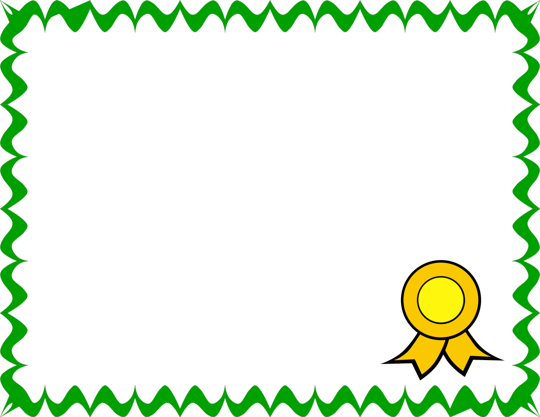 1100x850 Blank Certificate Clip Art Borders Amp Graphics