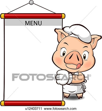 434x470 Blank Menu Clipart Printables And Menu