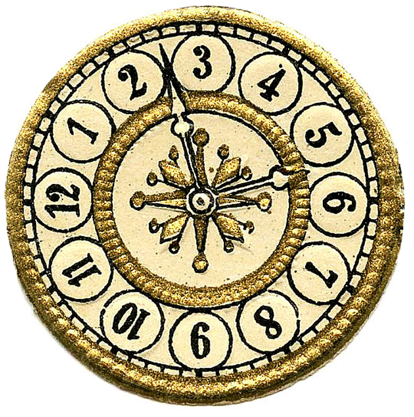 1340x1350 Clip Art Blank Clock Face Clip Art