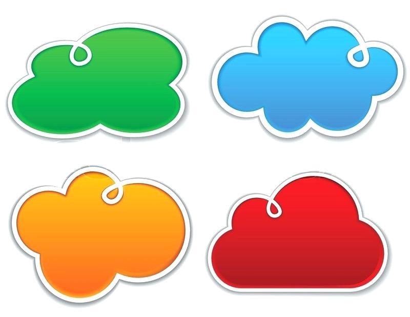 800x618 Cloud Shapes Clip Art Cloud Shapes Collection Clip Art Borders