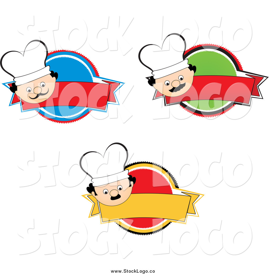 1024x1044 Vector Clipart Of A Chef Face Logos And Blank Banners By Andresr